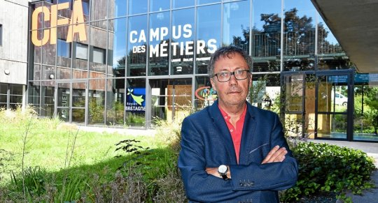 Conference presse rentree 2018 campus metiers finistere 29 cfa cuzon quimper telegramme